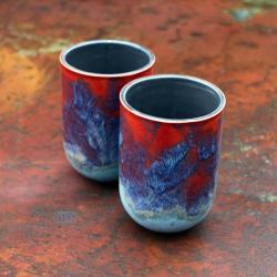 ceramika,kamionka,kubek - Ceramika i szkło - Wyposażenie wnętrz