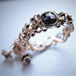 unikat,inny pierścionek zaręczynowy - Pierścionki - Biżuteria