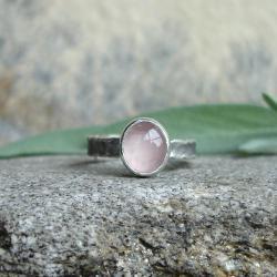 pastelowy,rózowy,delikatny - Pierścionki - Biżuteria
