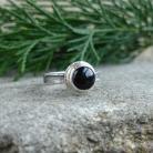 Pierścionki dziewczęcy,czerń,pierścionek