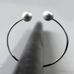 srebro 925,regulowana bransoleta,minimalistyczna - Bransoletki - Biżuteria