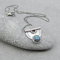 subtelny,kobiecy,wachlarz,naturalny,tajemniczy - Naszyjniki - Biżuteria