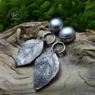 Kolczyki srebrne,perłowe,romantyczne,eleganckie,sztyfty