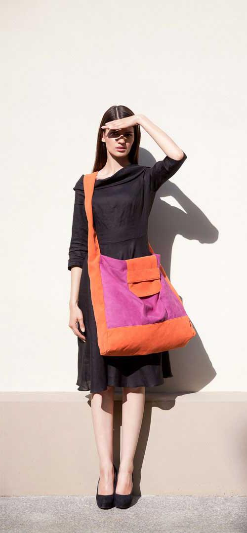 2145a9bede7b8 duże markowe torebki młodzieżowe worki xxl modne - Na ramię ...