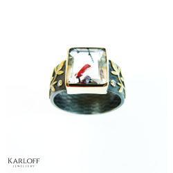 wyjątkowy,prezent,unikat,ręcznie wykonany - Pierścionki - Biżuteria
