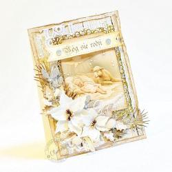 boże narodzenie,Jezus,stajenka,żłóbek - Kartki okolicznościowe - Akcesoria