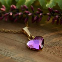 Wisiorek z serduszkiem - Wisiory - Biżuteria