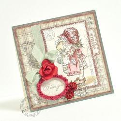 walentynki,miłość - Kartki okolicznościowe - Akcesoria