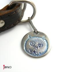 adresówka,przywieszka,kocia,psa,kota,adres - Inne - Biżuteria