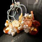 Kolczyki Nehesi,Kolczyki,ze Srebra,kandeblary,koral
