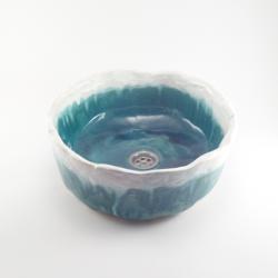 umywalka ceramiczna,umywalka nablatowa, - Ceramika i szkło - Wyposażenie wnętrz