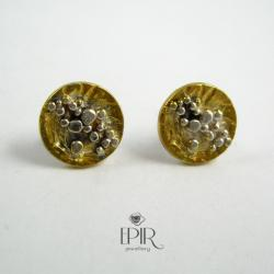 Kolczyki srebrne sztyfty - Kolczyki - Biżuteria
