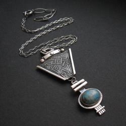 biżuteria artystyczna,rękodzieło,biżuteria etno, - Wisiory - Biżuteria