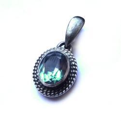 aleksandryt,srebrny,blask,zmiennobarwny,klejnot, - Wisiory - Biżuteria