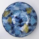 Ceramika i szkło misa,patera,na stół,dekoracja,szkło,fusing