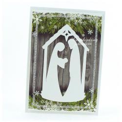 boże narodzenie,szopka,stajenka,święta,jezus,kartk - Kartki okolicznościowe - Akcesoria