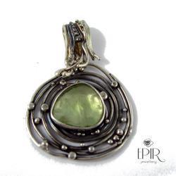 Wisior srebrny z prenitem - Wisiory - Biżuteria