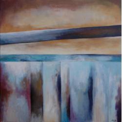 abstrakcja,brąz,szary - Obrazy - Wyposażenie wnętrz