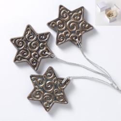 gwiazdka,do zawieszenia,dekoracja,na choinkę - Ceramika i szkło - Wyposażenie wnętrz