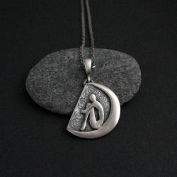 biżuteria srebrna,wisior,fiann,unikat - Wisiory - Biżuteria