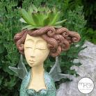 Ceramika i szkło ogród,kompozycja,florystyka,nasadzenie