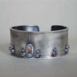 agat dendrytowy,nitza,artystyczna,unikatowa - Bransoletki - Biżuteria