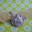 Wisiory srebro,wilk
