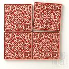 Ceramika i szkło kafle,dekory,czerwony,płytki,marokańskie