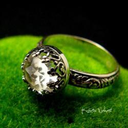 Nehesi,Pierścień,obrączka,srebrny,srebra - Pierścionki - Biżuteria
