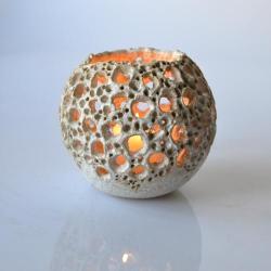 lampion,świecznik,prezent,ceramika - Ceramika i szkło - Wyposażenie wnętrz