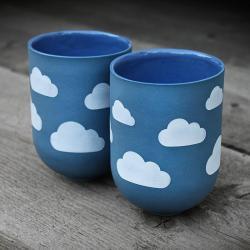 cumulus,chmurka,wzór - Ceramika i szkło - Wyposażenie wnętrz
