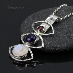 amulet,potrójny - Wisiory - Biżuteria
