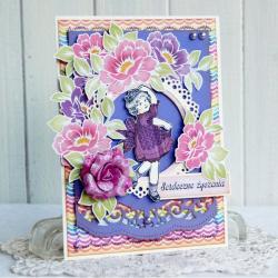 urodziny,kartka,AnnaMaria,dla dziewczynki - Dla dzieci - Akcesoria