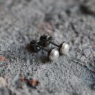 Kolczyki kolczyki srebro perły klasyka