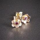 Kolczyki złote kolczyki,kolczyki sztyfty,kolczyki kwiatki