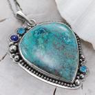 Naszyjniki azuryt,lapis lazuli,z azurytem,naszyjnik