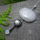 Naszyjniki srebrny,elegancki,okazały,boho,romantyczny,fossil