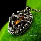 Naszyjniki Nehesi,naszyjnik,srebrny,srebra,dymnym