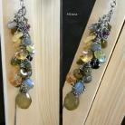 Naszyjniki srebro oksydowane,biżuteria autorska,