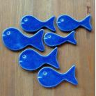 Ceramika i szkło rybka,magnes,morskie,kuchnia