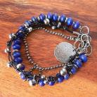 Bransoletki lapis lazuli,z lapisem lazuli,boho