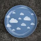Ceramika i szkło cumulus,chmurka,wzór,okrągły