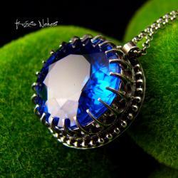 Nehesi,naszyjnik,srebrny,srebra,topazem - Naszyjniki - Biżuteria