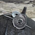 Kolczyki kolczyki - srebrne kólka