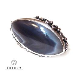 asymetryczny poprzeczny,wyjątkowy pierścionek - Pierścionki - Biżuteria
