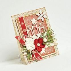stroik,Boże Narodzenie - Kartki okolicznościowe - Akcesoria