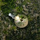 Wisiory srebrny wisior z jeżowcem Swarovski