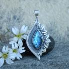 Wisiory niebieski,romantyczny,kobiecy