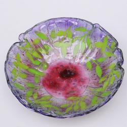 misa,patera,na stół,dekoracja,szkło,fusing - Ceramika i szkło - Wyposażenie wnętrz