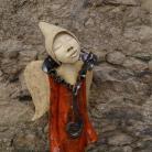 Ceramika i szkło anioł,figurka,dekoracja,wystrój,wnętrze,ogród